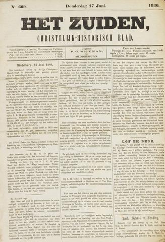 Het Zuiden, Christelijk-historisch blad 1880-06-17