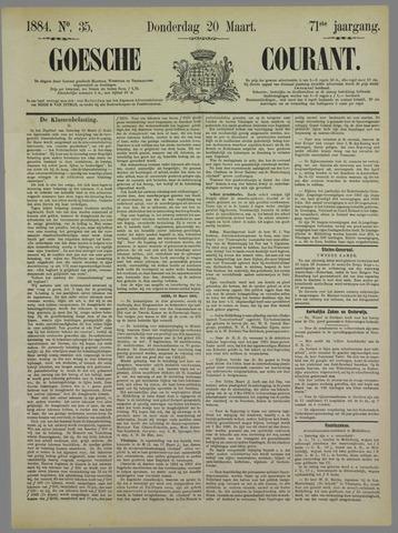 Goessche Courant 1884-03-20