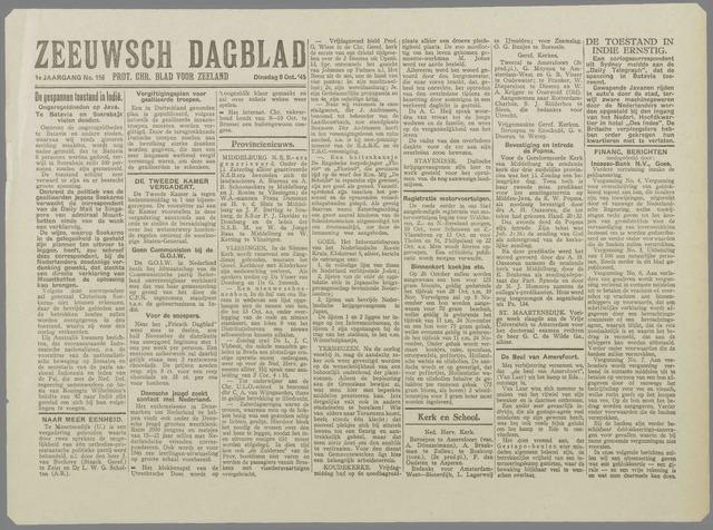 Zeeuwsch Dagblad 1945-10-09