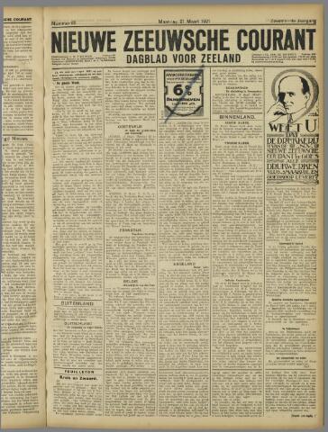 Nieuwe Zeeuwsche Courant 1921-03-21