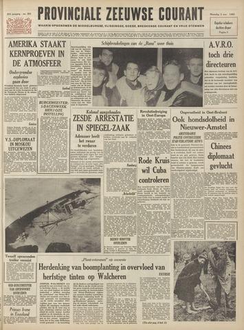 Provinciale Zeeuwse Courant 1962-11-05