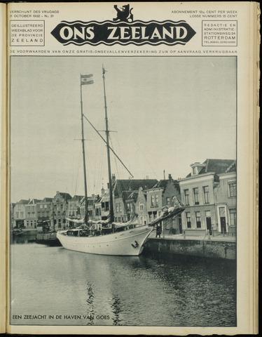 Ons Zeeland / Zeeuwsche editie 1932-10-21