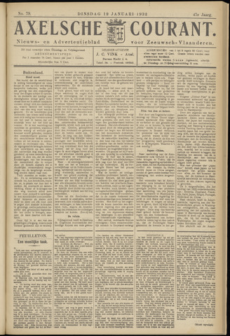 Axelsche Courant 1932-01-12