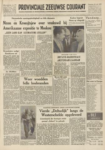 Provinciale Zeeuwse Courant 1959-07-25