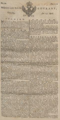 Middelburgsche Courant 1776-04-13