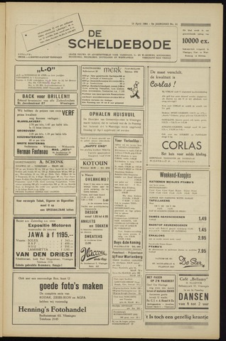 Scheldebode 1954-04-16