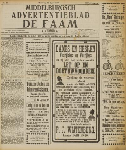 de Faam en de Faam/de Vlissinger 1907-04-24