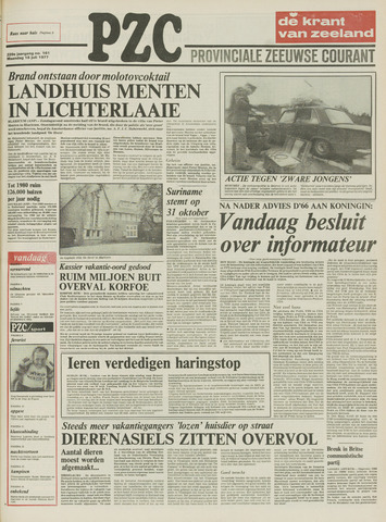 Provinciale Zeeuwse Courant 1977-07-18