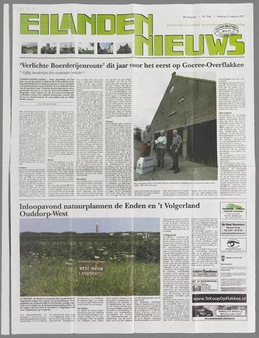 Eilanden-nieuws. Christelijk streekblad op gereformeerde grondslag 2007-08-21