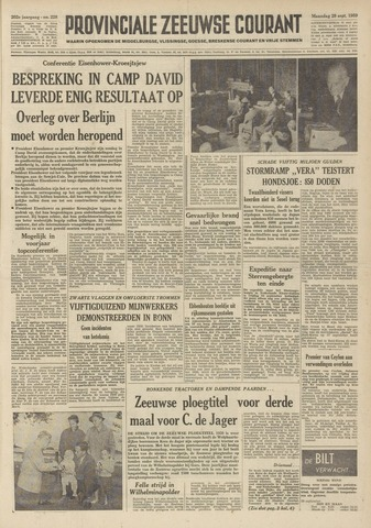 Provinciale Zeeuwse Courant 1959-09-28