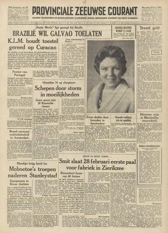 Provinciale Zeeuwse Courant 1961-01-30