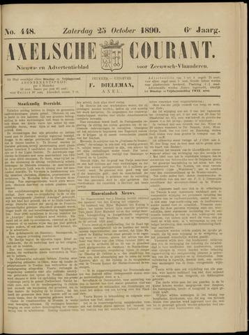 Axelsche Courant 1890-10-25