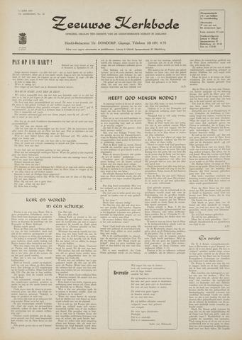 Zeeuwsche kerkbode, weekblad gewijd aan de belangen der gereformeerde kerken/ Zeeuwsch kerkblad 1970-06-11