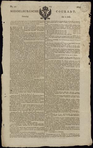 Middelburgsche Courant 1814-07-02