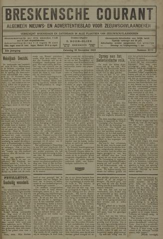 Breskensche Courant 1922-11-18
