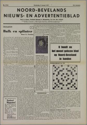 Noord-Bevelands Nieuws- en advertentieblad 1977-01-13