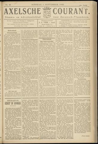 Axelsche Courant 1925-09-01