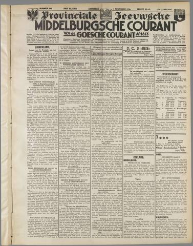 Middelburgsche Courant 1936-11-07