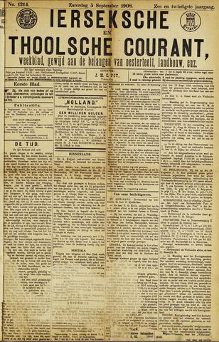Ierseksche en Thoolsche Courant 1908-09-05