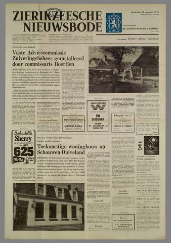 Zierikzeesche Nieuwsbode 1975-08-28