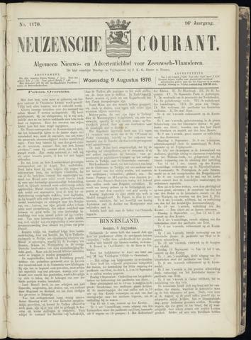 Ter Neuzensche Courant. Algemeen Nieuws- en Advertentieblad voor Zeeuwsch-Vlaanderen / Neuzensche Courant ... (idem) / (Algemeen) nieuws en advertentieblad voor Zeeuwsch-Vlaanderen 1876-08-09