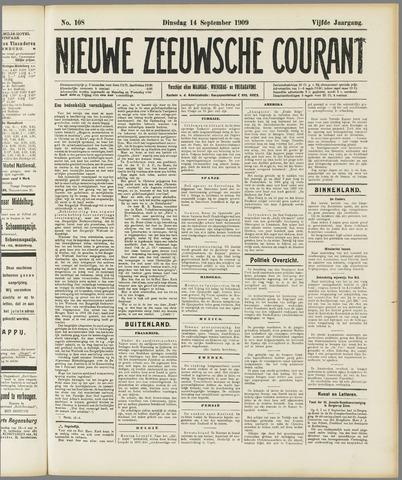 Nieuwe Zeeuwsche Courant 1909-09-14