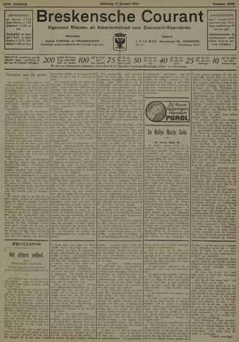 Breskensche Courant 1934-01-13