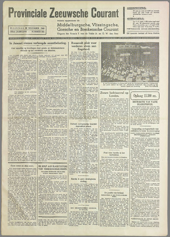 Provinciale Zeeuwse Courant 1940-12-30
