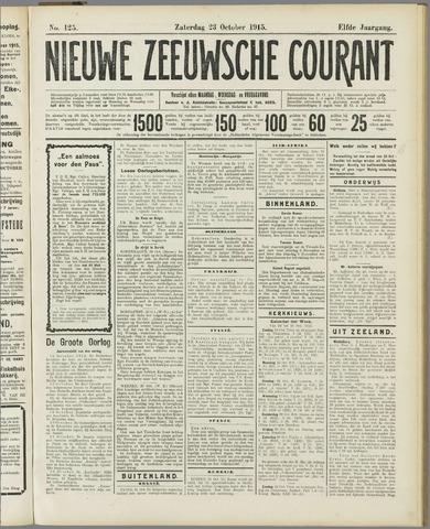 Nieuwe Zeeuwsche Courant 1915-10-23