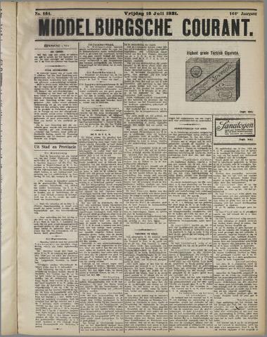 Middelburgsche Courant 1921-07-15