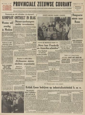 Provinciale Zeeuwse Courant 1963-05-27