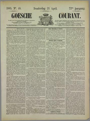 Goessche Courant 1885-04-23
