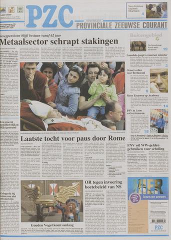 Provinciale Zeeuwse Courant 2005-04-05