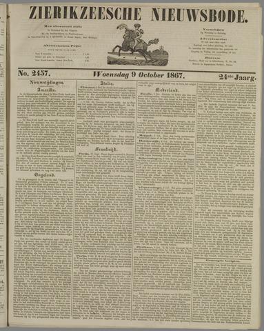 Zierikzeesche Nieuwsbode 1867-10-09