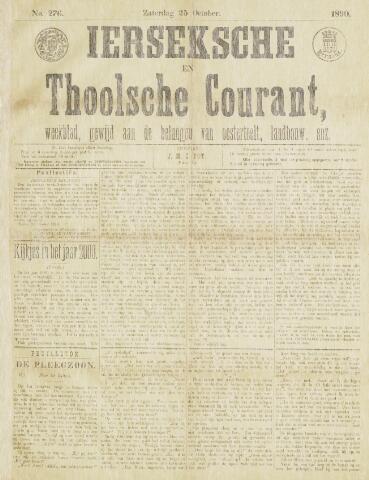 Ierseksche en Thoolsche Courant 1890-10-25