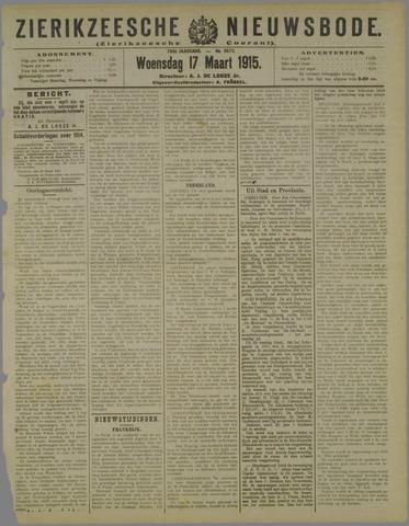 Zierikzeesche Nieuwsbode 1915-03-17