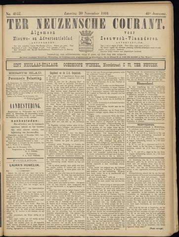 Ter Neuzensche Courant. Algemeen Nieuws- en Advertentieblad voor Zeeuwsch-Vlaanderen / Neuzensche Courant ... (idem) / (Algemeen) nieuws en advertentieblad voor Zeeuwsch-Vlaanderen 1901-11-30