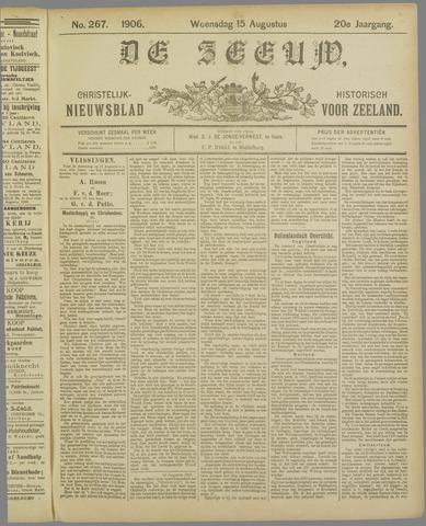 De Zeeuw. Christelijk-historisch nieuwsblad voor Zeeland 1906-08-15