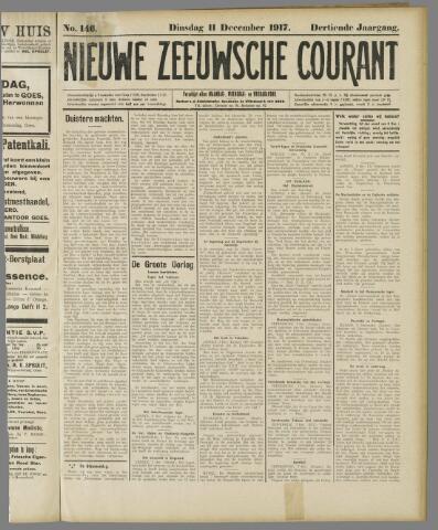 Nieuwe Zeeuwsche Courant 1917-12-11
