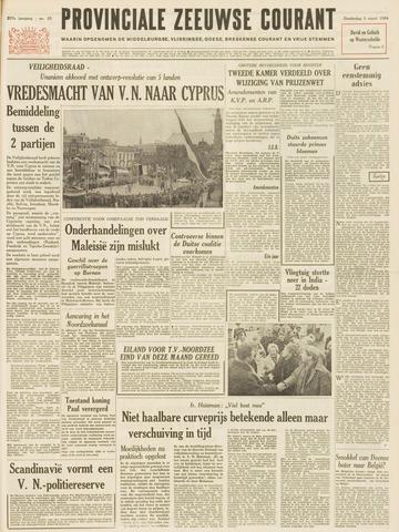 Provinciale Zeeuwse Courant 1964-03-05