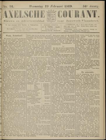 Axelsche Courant 1919-02-19