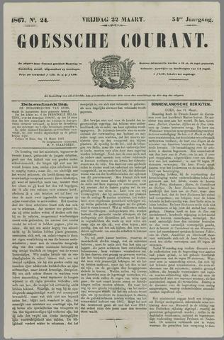 Goessche Courant 1867-03-22