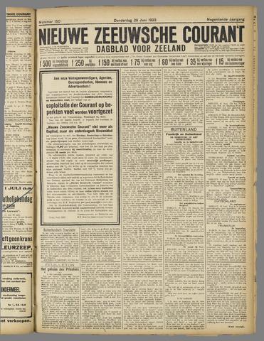 Nieuwe Zeeuwsche Courant 1923-06-28