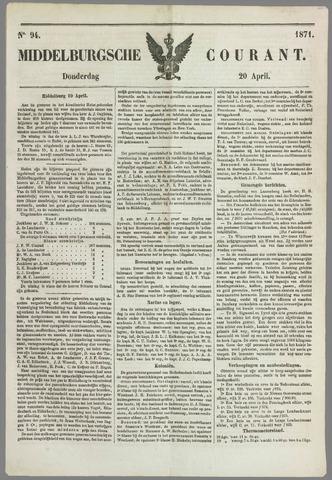 Middelburgsche Courant 1871-04-20