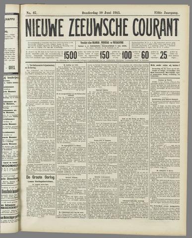 Nieuwe Zeeuwsche Courant 1915-06-10