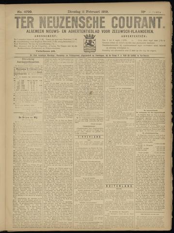 Ter Neuzensche Courant. Algemeen Nieuws- en Advertentieblad voor Zeeuwsch-Vlaanderen / Neuzensche Courant ... (idem) / (Algemeen) nieuws en advertentieblad voor Zeeuwsch-Vlaanderen 1919-02-11