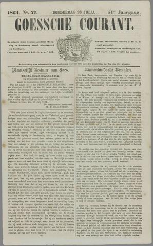 Goessche Courant 1864-07-28