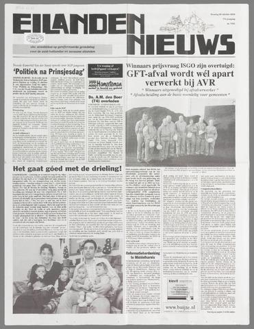 Eilanden-nieuws. Christelijk streekblad op gereformeerde grondslag 2004-10-26