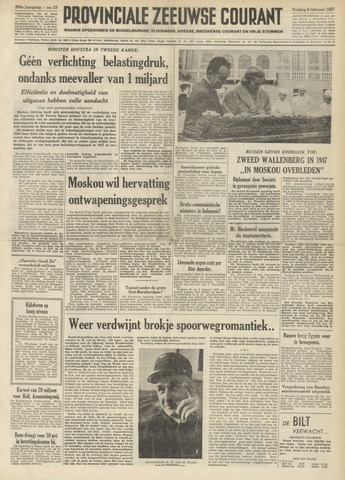 Provinciale Zeeuwse Courant 1957-02-08