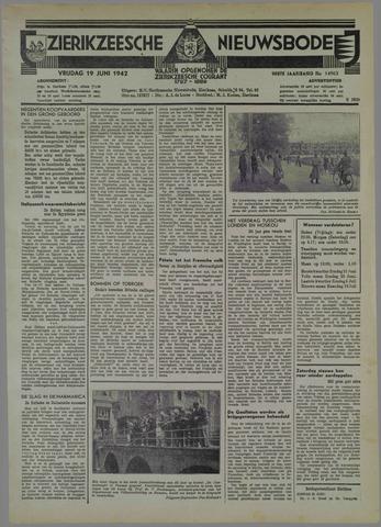 Zierikzeesche Nieuwsbode 1942-06-19
